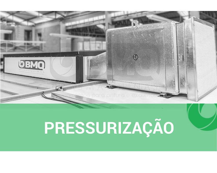 O que é pressurização?