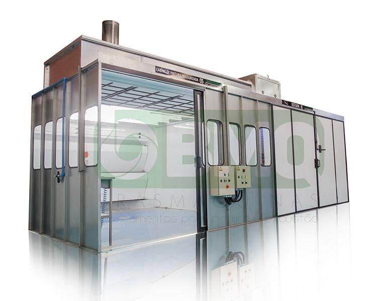 Cabine de Pintura Pressurizada com Estufa Integrada